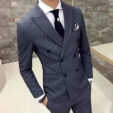 Jacket + Pants / <b>Mens Luxury Brand</b> Formal Casual Slim Formal ...