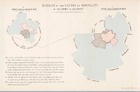 the surprising history of the infographic history smithsonian florence nightingale s rose diagrams