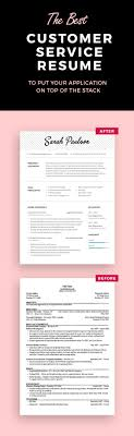 customer service resume template resume templates let your skills and experience shine on your resume we have a customer service resume template that can put your application on top of the stack