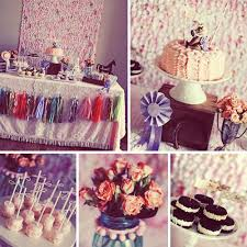 vintage party decor