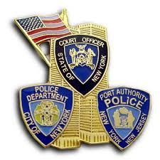 Image result for nypd/port authority 9/11 badge