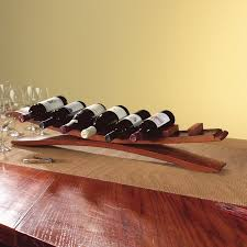arched oak stave wine rack arched table top wine cellar furniture