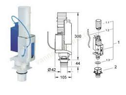 Смывной <b>клапан GROHE 38736000</b> - Альбатрос