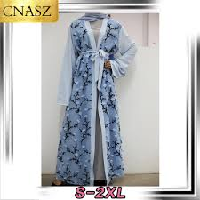 Best Offers for dubai printed abaya near me and get free shipping ...
