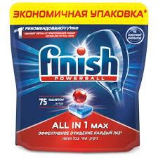 <b>FINISH</b> All in1 <b>таблетки</b> 75 шт по выгодным ценам в Минске с ...