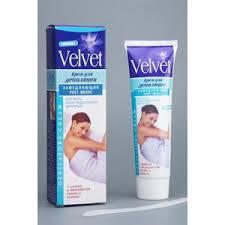<b>Крем для депиляции Velvet</b> Замедляющий рост волос | Отзывы ...