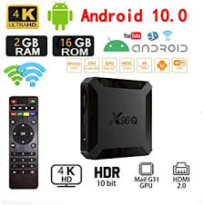 <b>Android 10.0</b> TV Box,<b>X96</b> Mini 2020 Upgraded Version <b>X96Q</b> 2GB