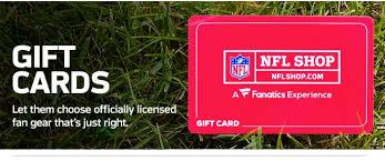 NFL Shop Gift Cards
