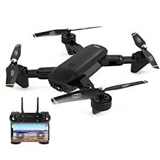 Redcolourful DM107S <b>Dual Cameras Foldable</b> RC Drone High ...