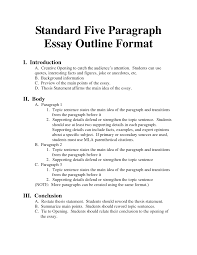 essay sample format template essay sample format