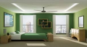 View In Gallery Sleek And Stylish Modern Bedroom Green