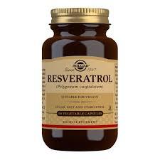 <b>Resveratrol 100 mg</b> Vegetable Capsules - Pack of <b>60</b> - Solgar