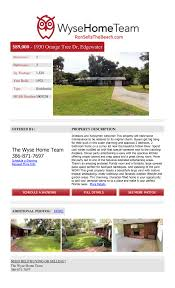 orange tree drive listing flyer