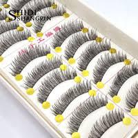 10 <b>pairs</b> eyelashes