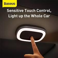 Baseus <b>Bright Car</b> Reading Light <b>Touch Night Light</b> Magnet Lamp ...