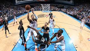 Image result for images of okc thunder and the warriors