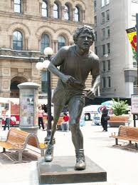 my running network terry fox statue in ottawa