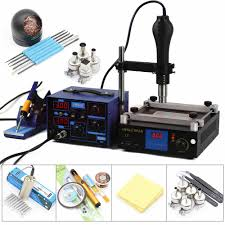 <b>YIHUA 853D 3 In</b> 1 Soldering Iron + Power Supply + Soldering ...