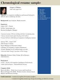 top  retail  s supervisor resume samples      gregory l pittman retail  s supervisor