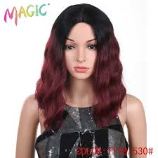 <b>Magic Hair</b> Synthetic <b>Lace Front Wigs</b> 14 Inch Deep Wavy <b>Wigs</b> ...