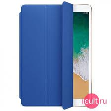 Кожаный <b>чехол</b>-<b>обложка Apple Leather Smart</b> Cover Electric Blue ...