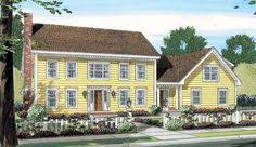 Story Colonial House PlansColonial style house plans   square foot home   story  bedroom and