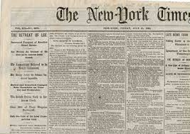 comparing two newspapers essay samplequot