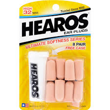 Hearos <b>Ear Plugs Ultimate Softness</b> Series - 8 Pair - Buy Online in ...