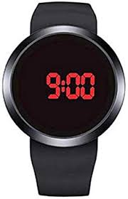 MERSDW Wristwatch, New Round Touch Screen LED ... - Amazon.com