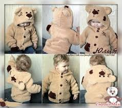 Кофточка <b>мишка</b> Тедди. - Вязание для детей - Страна Мам ...