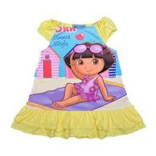 Dora <b>Girls dress 2016</b> summer Short sleeve Kawaii <b>Casual dress</b> ...