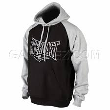 с Капюшоном Everlast Hoodie <b>One</b>-<b>Two</b> Punch EVHD7 BK Black