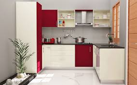 modular kitchen colors: homelane modular kitchen glossy rose and white