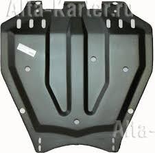 <b>Защита композитная</b> АвтоЩИТ для <b>картера двигателя</b> и КПП ...