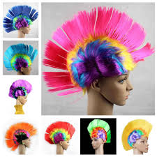 <b>Halloween</b> costume Wigs <b>Bar KTV Products</b> Acting Funny Wig Color ...