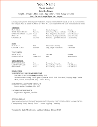 6 cv resume templates microsoft word event planning template resume outline microsoft word
