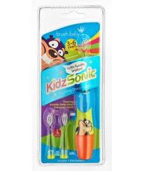Электрическая <b>зубная щетка Brush-Baby KidzSonic</b> от 3 до 6 лет ...