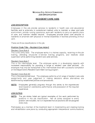 child care aide resume s aide lewesmr sample resume resident aide job description for resume