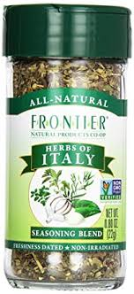 Frontier <b>Herb Herbs Of Italy</b> International Seasoning, 0.8 oz: Amazon ...