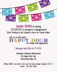 park talk printables a festive retirement party she was hosting a happy hour in honor of jeanie she found a great location at a local mexican restaurant everyone loves appetizers and cocktails right
