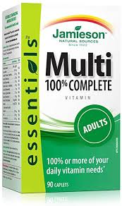 Jamieson 100% Complete <b>Multivitamin for Adults</b>: Amazon.ca ...