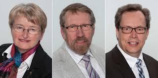 Barbara Neinass, Axel Mylius und Uwe Edler. Barbara Neinass Nach 44-jähriger Verlags-Tätigkeit jetzt Rentnerin, ... - KandidatenWK2