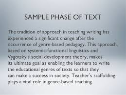 SAMPLE PHASE OF TEXT      The tradition of approach in teaching writing     SlideShare