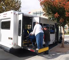 changes coming to senior shuttle in west sacramento the news senior shuttle rider evelyn vannoy is helped onto the united christian center paratransit van by driver