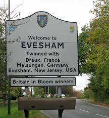 「the town of Evesham, Worcestershire.」の画像検索結果