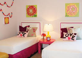 bedroom for girls: girls bedroom with double beds how to decorate double bed bedroom for girls