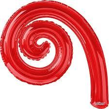 Конвер <b>Шарик</b> воздушный Спираль цвет красный — купить в ...