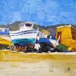 Картины с лодками