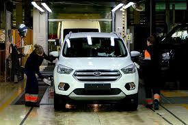 В России выпустили 75-тысячный <b>Ford Kuga</b> — Российская газета