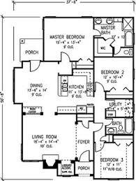 images about Future Home  on Pinterest   House plans     quot Not so Big House quot  floor plan option